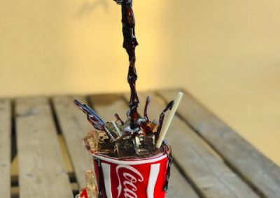 Gravity Cake Coca-Cola