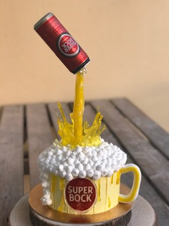 Gravity Beer Cake