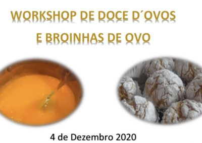 Workshop Doce D´Ovos