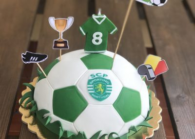 Soccer Cake Sporting