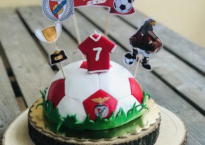 Soccer Cake Benfica